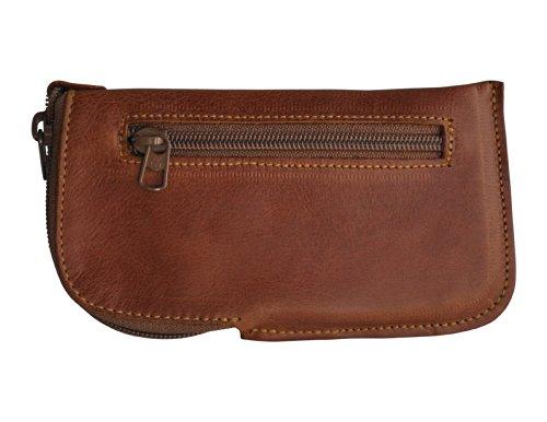 Brown Genuine Leather Cover Lined Case Soft Sleeve Pouch Pocket Wallet with Zipper fits 1 2 2 3 3.5 4 4.5 5 40 45 210 225 266 300 310 454 500 520 525 600 600 601 625 630 635 720 925 928 929 930 1020 3000 3.5X Mi-356 354e 3G 402+ 4.0D 404e 4G 53 Jasper A10 Karbonn A107+ A125 A16 A2+ A27 Ninja A27+ A29 A29 A31 A35 Bolt A4+ A40 celcon A42 A48 A500IPS A5i A6 A600 A64 A66 A8 A859 A88 CanvaMusic A99 Ace Style Acer Liquid E2 Acte Advance Alcatel Touch Alcatel Touch Evolve Alpha Apple iPhone AR 40 ARCHO40b Titanium ARR 35 AsuZenF AT Neo AT&T Z998 Avail Beam BlackBerry Blade Q c C5 C7045 Casio G'z Commando concord Core D Dash Discover S730G DROID Ultra E BLU E1 Edge Elite Emporia eco Exceed Exhibit Express F3 F3Q F5 F6 F7 F70 Fierce Fire E First G2 G510 G525 G6 General Mobile Discovery GIGABYTE GSmart Maya M1 GJ Google Nexus Grand Pro Hongmi HTC 8XT Huawei Ascend D2 ICEMOBILE Prime Icon Idol II TV III Value Edition Iri405 IV Jolla Smartph JR K zoom KKT 35+ Kyocera Hydro EDGE L L L5 L65 L7 L70 L90 LAVA 3G 356 LG Volt Life Play X Light LT900 Lucid Lumia Icon M M2 Maxwest Orbit 4400 MAXX Meizu MX3 Mettle 4x Micromax A26 Bolt mini Motorola RAZR V Music 4.0 N800 NEC Terrain Neo NIU Niutek 4.5D Nokia 220 Nubia Z5S One OPPO R819 OptimuL9 P P2 P37 P6 P7 P7 Panasonic P31 Pantech Discover Plum Axe Plus Poise Mi-451 Pop C7 Prelude Premia Prestigio MultiPh PAP400 Duo Prevail Pro 30 pure Q Q10 Q5 Q500 Q600 Q700 Q700i Q800 X-Edition Q900 Radiant RAZR D3 Rey R3 S S4 s400 Ruby s470 Black Pearl S5 S650 S660 S7 S850 Samsung Galaxy Ace SE Slim Snap Solar Sonata Sony Xperia Source SP Spark 285 Spice Mobile Smart Flo Sprint Force Star lte Stellar Glamour Supreme SV T-Mobile Prism II T4 UMX U680 Valet Valiant Vertu Ti s s3 s4 Verykool i240 VIBE Videocon A23 Vital Vitria Vo 4.8 HD W1 W2 W2014 Warp Win X Xcover Xiaomi Mi-2S Xolo A500L XTRM Y300 Y530 Yezz ANDY AZ4.5 Z Z1 Compact Z10 Z3 Z30 Zen Mobile Ultraf 102 ZL Zoom ZR ZTE Grand Sand other phones mini bag purse (Lining For Samsung Galaxy S3 Mini 