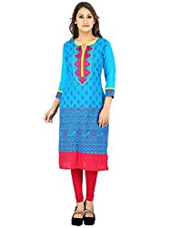Mister Lady Embroidered Cotton Kurti