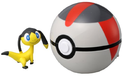 Takaratomy pokemon Monster Collection Figure B-04 Mon-Colle Timer Ball &Helioptile by USA