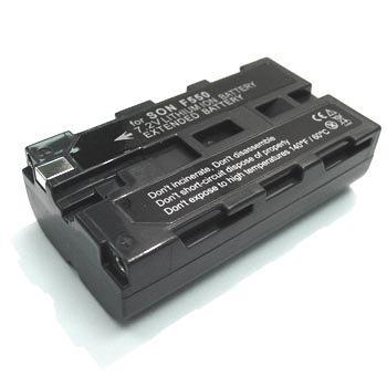 Sony NP-F550 NPF550 Sony Mavica NP-F330 CCD-TR1 TR3 TR200 TRT97 NP-F330 F950 F750 High Capacity 2300mAh Lithium-Ion Battery