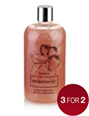 Natures Extracts Blissful Strawberry Cream Bath 500ml