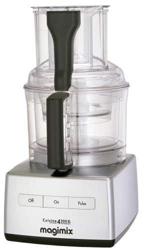 Magimix 4200XL Food Processor, Satin Steel