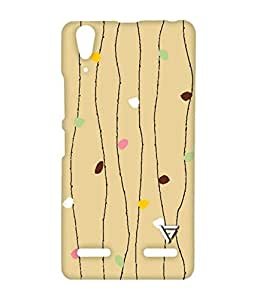 Vogueshell Wooden Pattern Printed Symmetry PRO Series Hard Back Case for Lenovo A6000