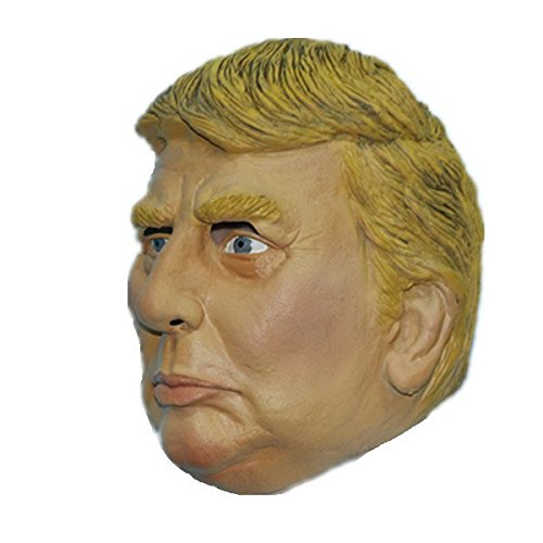 2544 NEWX-MERRY Free Shipping ! Donald Trump Mask USA Property Tycoon Realistic Latex Mask Celebrity Face Mask