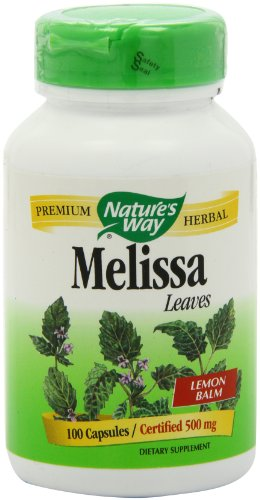 Nature's Way Melissa Lemon Balm Capsules, 100Count Picture
