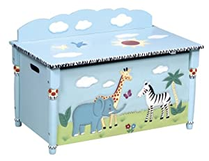 Guidecraft Safari Collection Toy Box