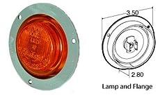 Truck-Lite Model 10 LED Marker Light w/Flange Yellow 10251Y