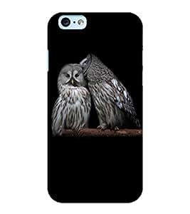 ColourCraft Loving Owls Design Back Case Cover for APPLE IPHONE 6S