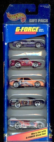 Hot Wheels 1997 G-force Gift Pack 1:64 Scale - 1