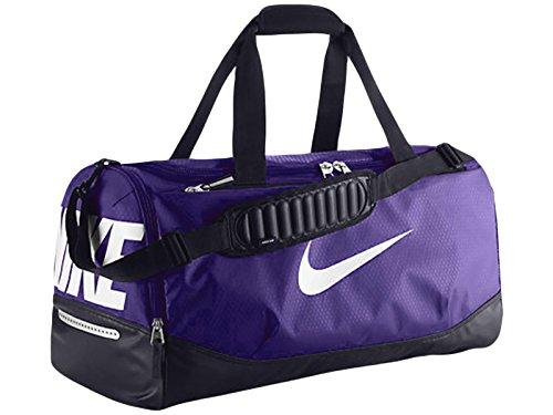 New Nike Team Training Max Air Medium Duffel Bag Persian Violet/Black/White