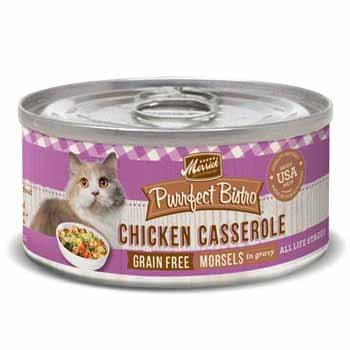 Merrick Purrfect Bistro Grain Free Chicken Casserole
