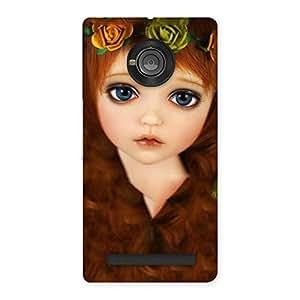 Cute Tini Doll Back Case Cover for Yu Yuphoria