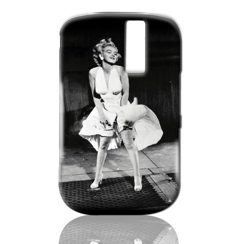 Elvis Snap-On Case With Elvis Image And Silhouette Holding A Mic For Blackberry Curve 8300 - Light Blue