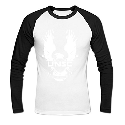 Donald Conklin A0374 UNSC Halo Men's T-Shirt S White