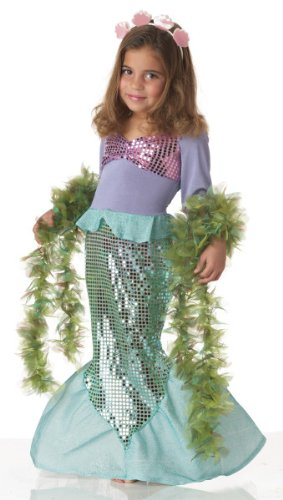 Toddler Little Mermaid Costume Size 3-4T