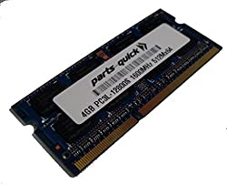 4GB Memory Upgrade for QNAP TS-451 DDR3L 1600MHz PC3L-12800 SODIMM RAM (PARTS-QUICK BRAND)