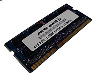 4GB Memory for QNAP TS-453 PRO, TS-453S PRO DDR3L-1600MHz SODIMM RAM (PARTS-QUICK BRAND)