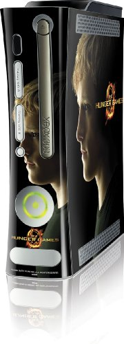 Skinit The Hunger Games -Peeta Mellark Vinyl Skin for Microsoft Xbox 360 (Includes HDD)