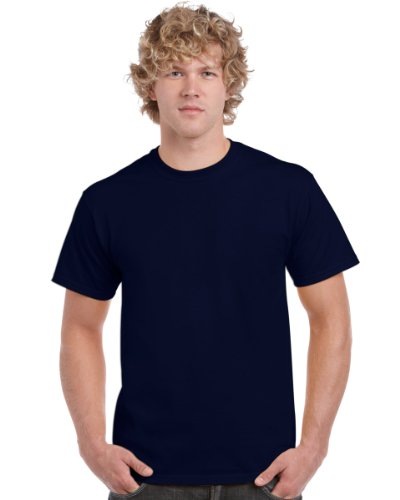 Gildan Ultra T-Shirt für Männer (3XL) (Marineblau)