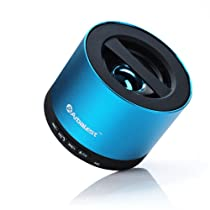 Arbalest Portable Bluetooth Wireless Mini Speaker - (Blue), with Mic Phone Handsfree, Built-in MicroSD Card Slot - Amazing Sounds!