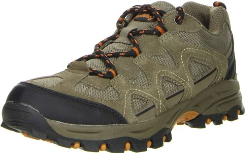 ConWay Damen Herren Outdoorschuhe Trekkingschuhe Walkingschuhe orange, Größe:38;Farbe:Orange