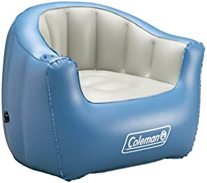 Amazon Coleman Inflatable Adult Chair Blue
