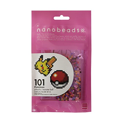 ナノビーズ 101 ピカチュウ/モンスターボール 80-63006