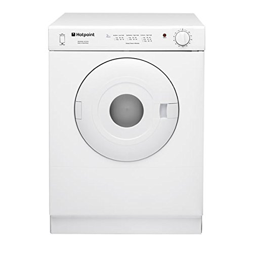 Hotpoint V4D01P 4kg Small Vented Tumble Dryer White