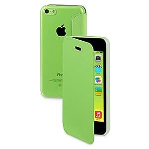 MOXIE Étui ultra fin Folio Cover Vert pour iPhone 5C