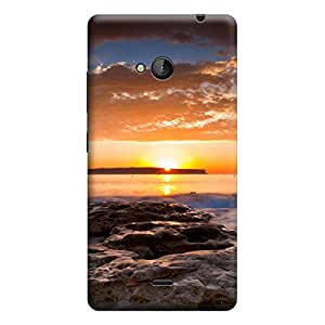 iShell Premium Printed Mobile Back Case Cover With Full protection For Microsoft Lumia 535 (Designer Case)