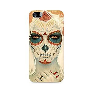 Mobicture Skull Art Premium Printed Case For Apple iPhone 5/5s