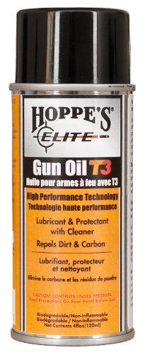 Hoppe'S Elite Aerosol Gun Oil Bottle With T3, 4-Ounce