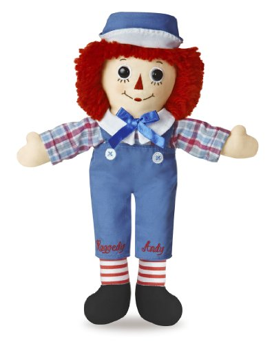 Raggedy Andy Classic Doll 12""