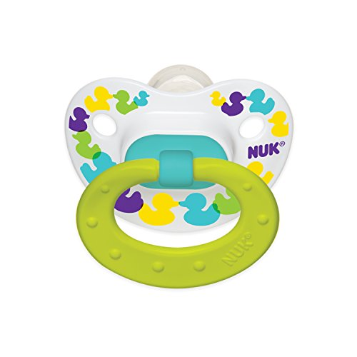NUK Confetti Ducks Orthodontic Silicone Pacifier - 1