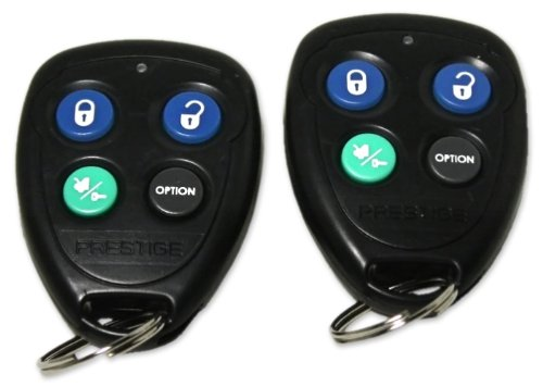 Brand New Prestige Aps620n Remote Car Starter / Keyless Entry Combo System with All the Latest Features and 1400 Foot Range and Dataport Input and (2) 4 Button Remotes