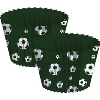 Heads Up Soccer Party Cupcake Baking Cups (Soccer Baking Cups compare prices)