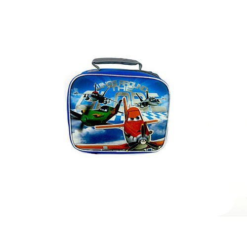 Disney Planes Boys Rectangular Lunch Kit - Blue - 1
