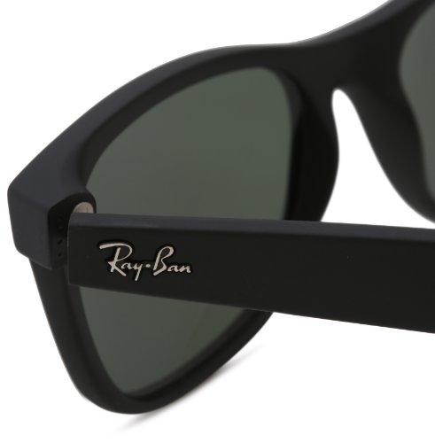 ray ban wayfarer black rubber