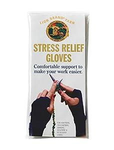 Lion Brand Stress Relief Gloves, Medium