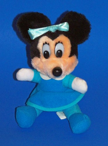 "Mickey's Christmas Carol: Plush Minnie Mouse As Mrs. Cratchet (6"") - 1"