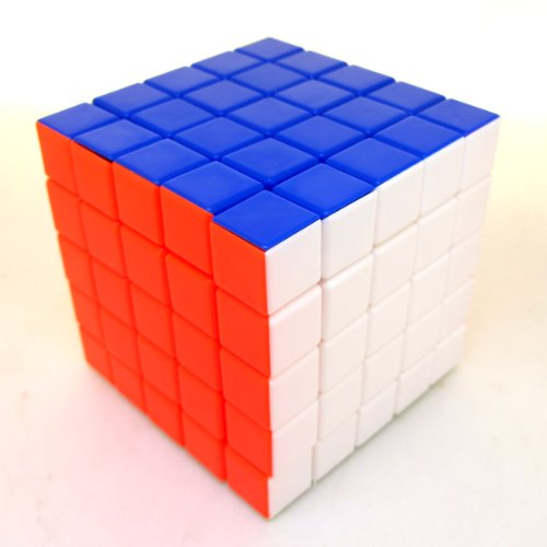 Diansheng 5x5x5 Stickerless Cube Twisty Puzzle Smooth