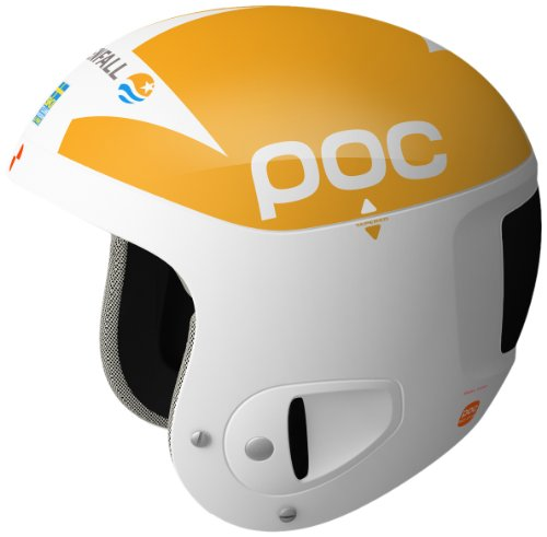 POC Rennhelm Skull Comp 2.0, yellow/white, 59-62  cm, VA10111