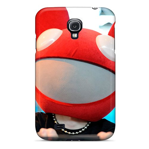Galaxy S4 Case Slim [Ultra Fit] Deadmau5 Spinning Protective Case Cover
