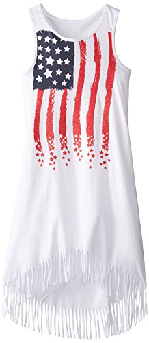 The Children's Place Little Girls' Americana Fringe Dress the taverner s place