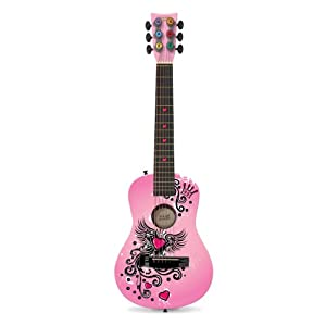 First Act FG3710 Designer Acoustic Guitar, Winged Heart