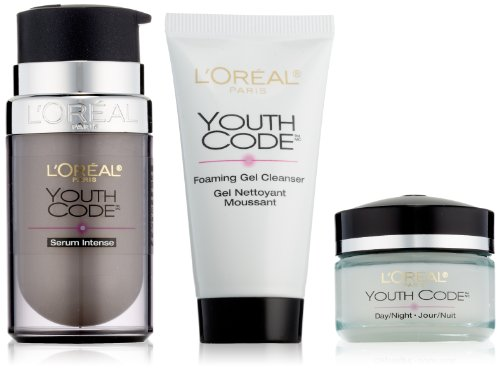 L'Oreal Paris Youth Code Power Trio Kit (Youth Code Day Night Cream compare prices)