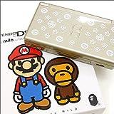 A BATHING APE Nintendo DS Lite BABY MILO EDITION スーパーマリオ マイロモノグラム柄【ゴールド】