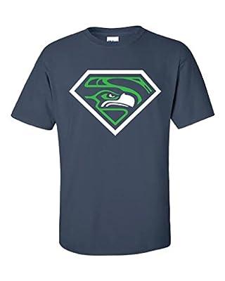 Local Imprint Men's Diamond Seattle Seahawks T-Shirt