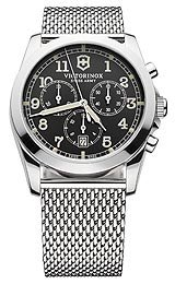 Victorinox Swiss Army Infantry Black Dial Quartz Men's Watch - 241589