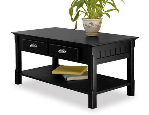 Buy Low Price Winsome Timber Coffee Table And End Table Set In Black Beechwood 20238 20124